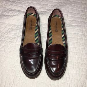 NWOT Sperry's penny loafers sz 6